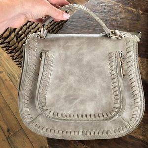 Vici large crossbody saddlebag purse